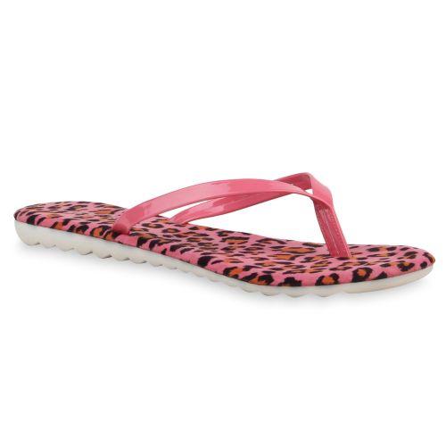 Damen Sandalen Zehentrenner - Pink