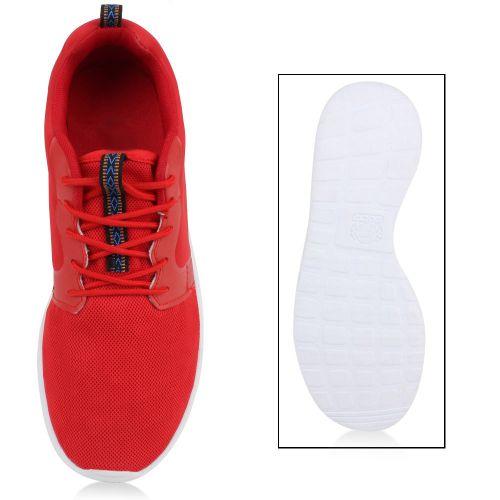 Herren Sportschuhe Laufschuhe - Rot