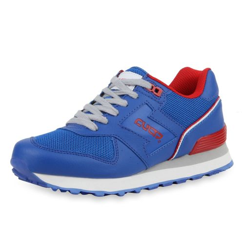 Damen Sportschuhe Laufschuhe - Blau Rot