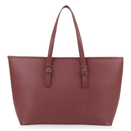 Damen Shopper - Altrosa