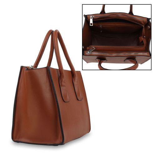 Damen Handtasche - Braun