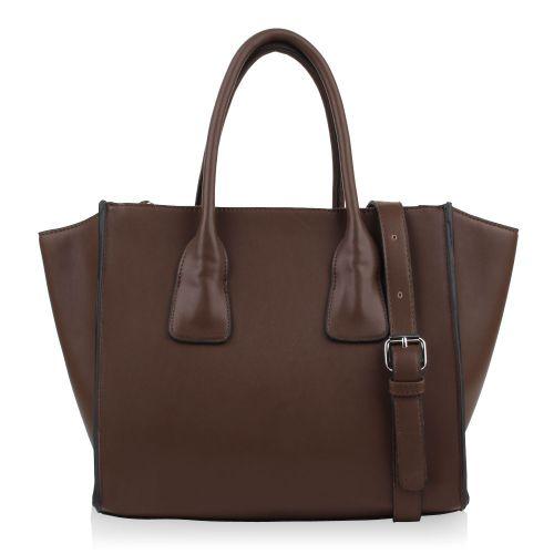 Damen Handtasche - Taupe