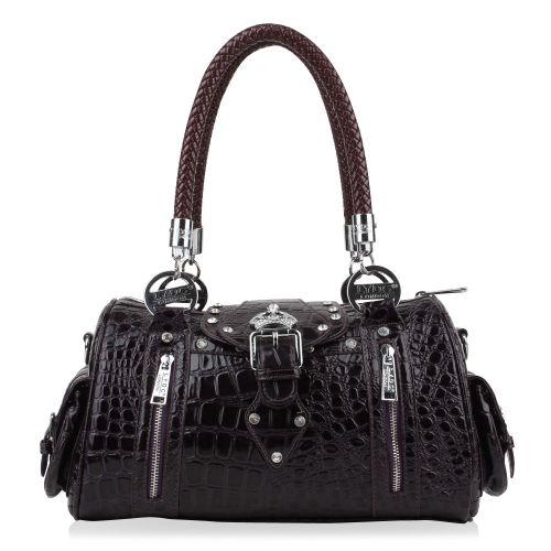 Damen Handtasche - Dunkellilla