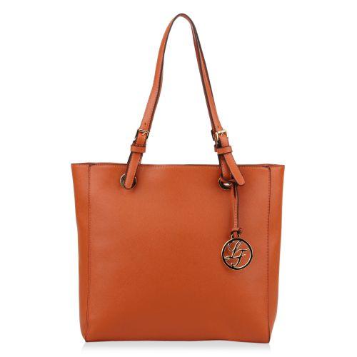 Damen Schulter Tasche - Orange