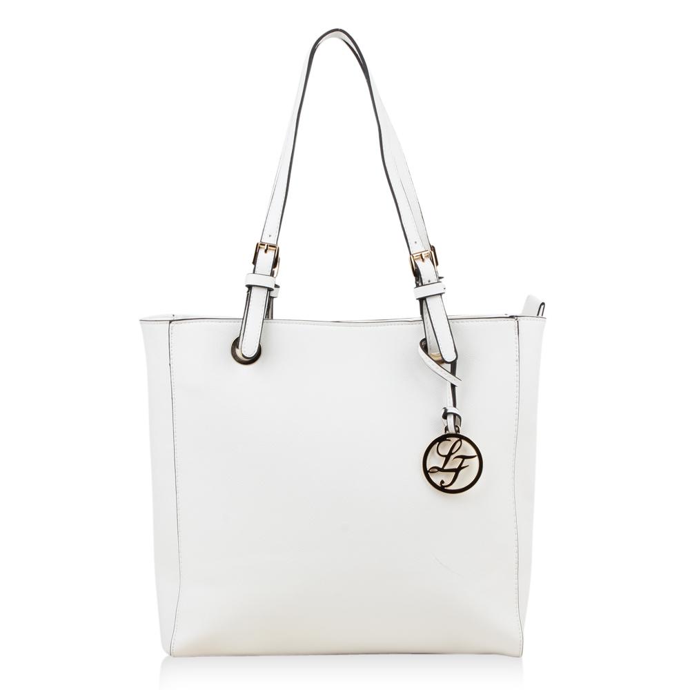 Damen Schulter Tasche - Weiß