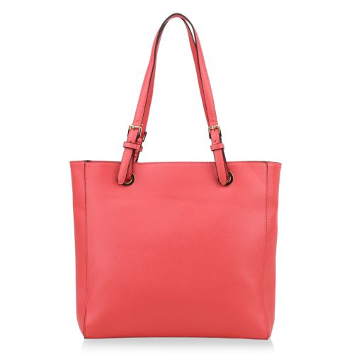 Damen Schulter Tasche - Coral