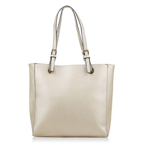Damen Schulter Tasche - Gold