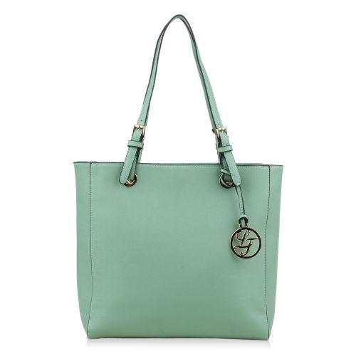 Damen Schulter Tasche - Hellgrün