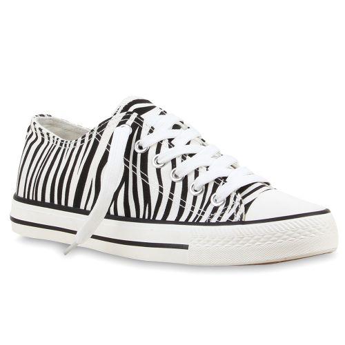 Herren Sneaker low - Zebra