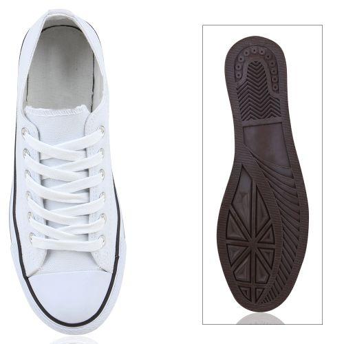 Herren Sneaker low - Weiß Schwarz