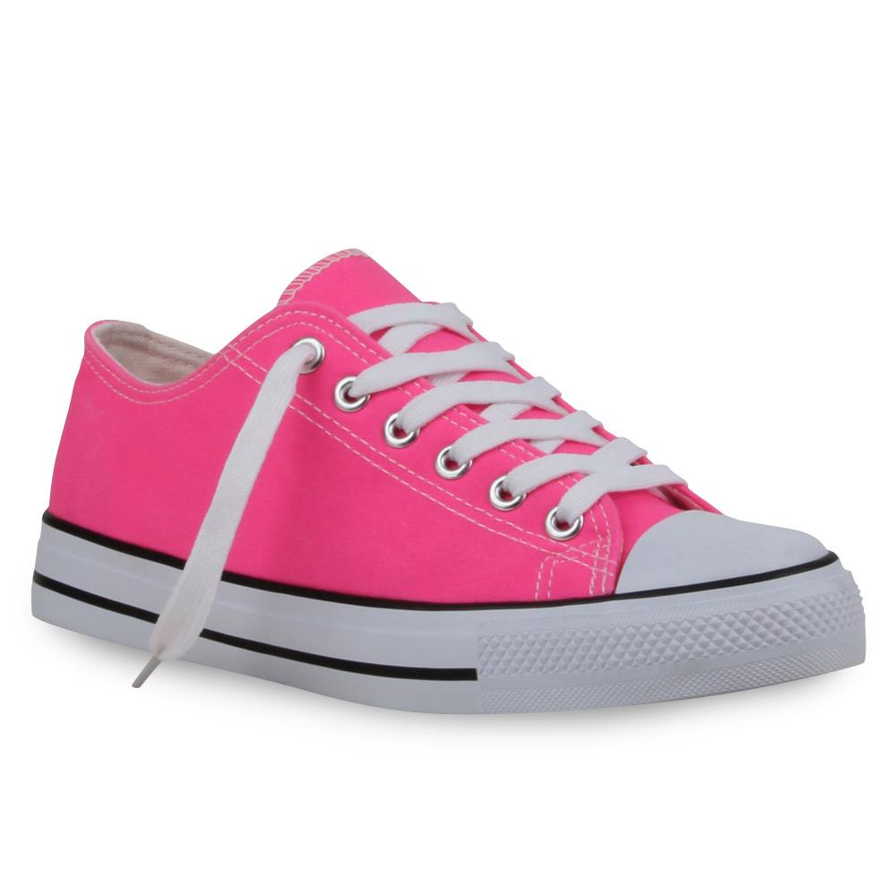 Damen Sneaker low - Neonpink