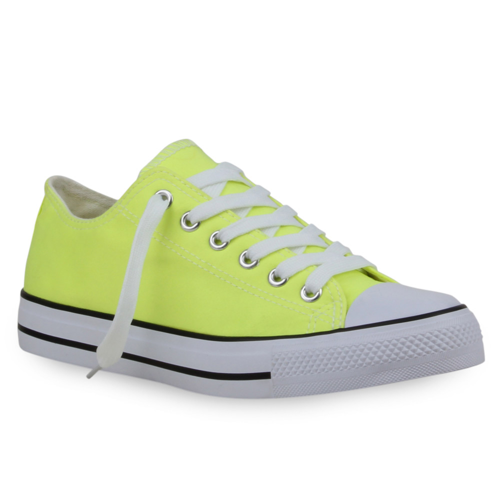 Damen Sneaker low - Neon Gelb