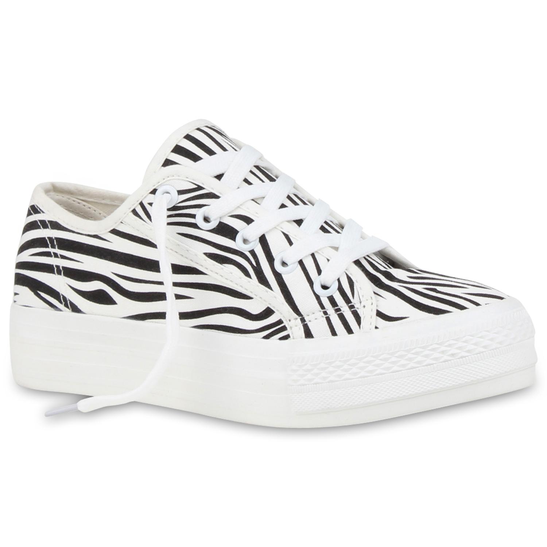 Damen Sneaker low - Zebra