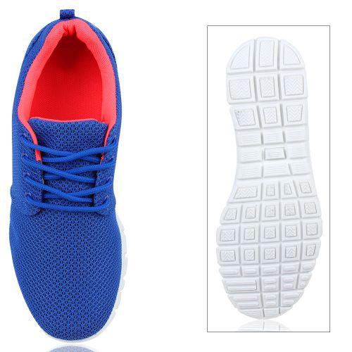 Damen Sportschuhe Laufschuhe - Blau Pink