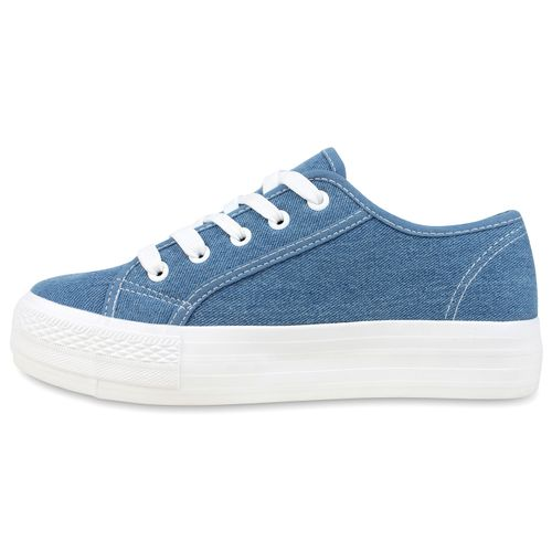 Damen Sneaker low - Blau Denim