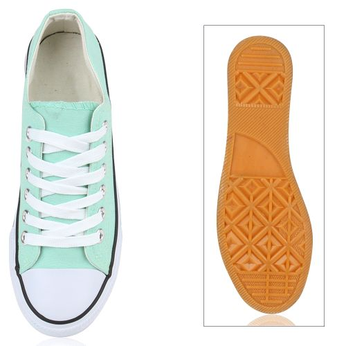 Damen Sneaker low - Hellgrün