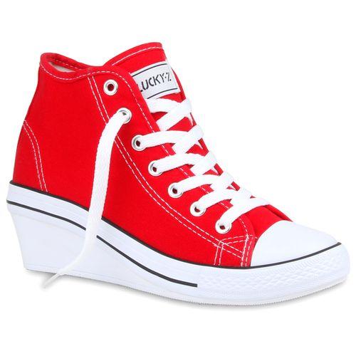 Wedges Damen Wedges Sneaker Rot Rot Damen Rot Wedges Sneaker Damen Sneaker Damen n1wxYqC5