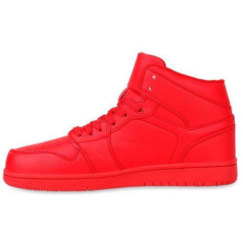Herren Sportschuhe Basketballschuhe - Rot