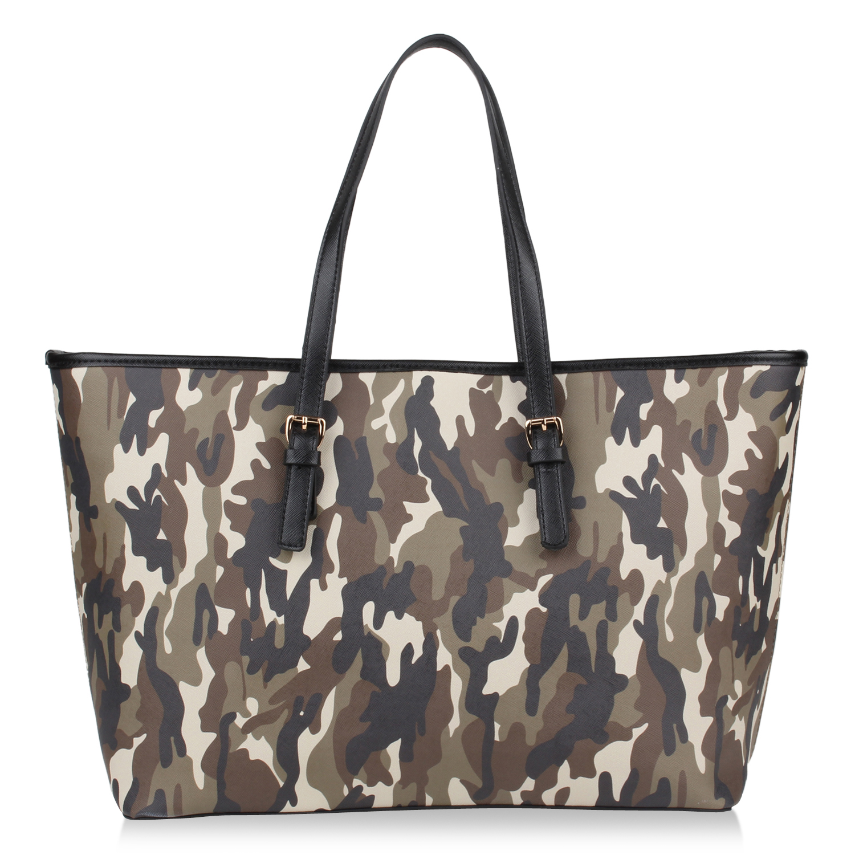 Damen Shopper - Camouflage