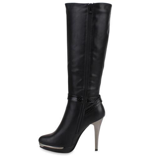 Heels High Schwarz Stiefel High Stiefel Damen Heels Heels Damen Schwarz High Stiefel Damen 6wqYX1