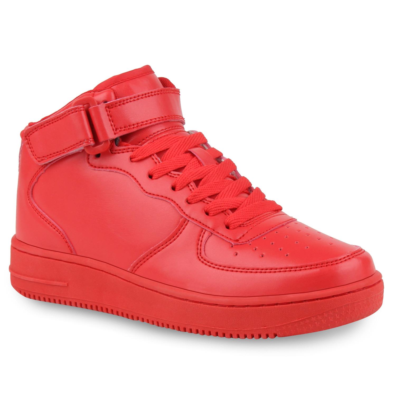 Damen Sportschuhe Basketballschuhe - Rot