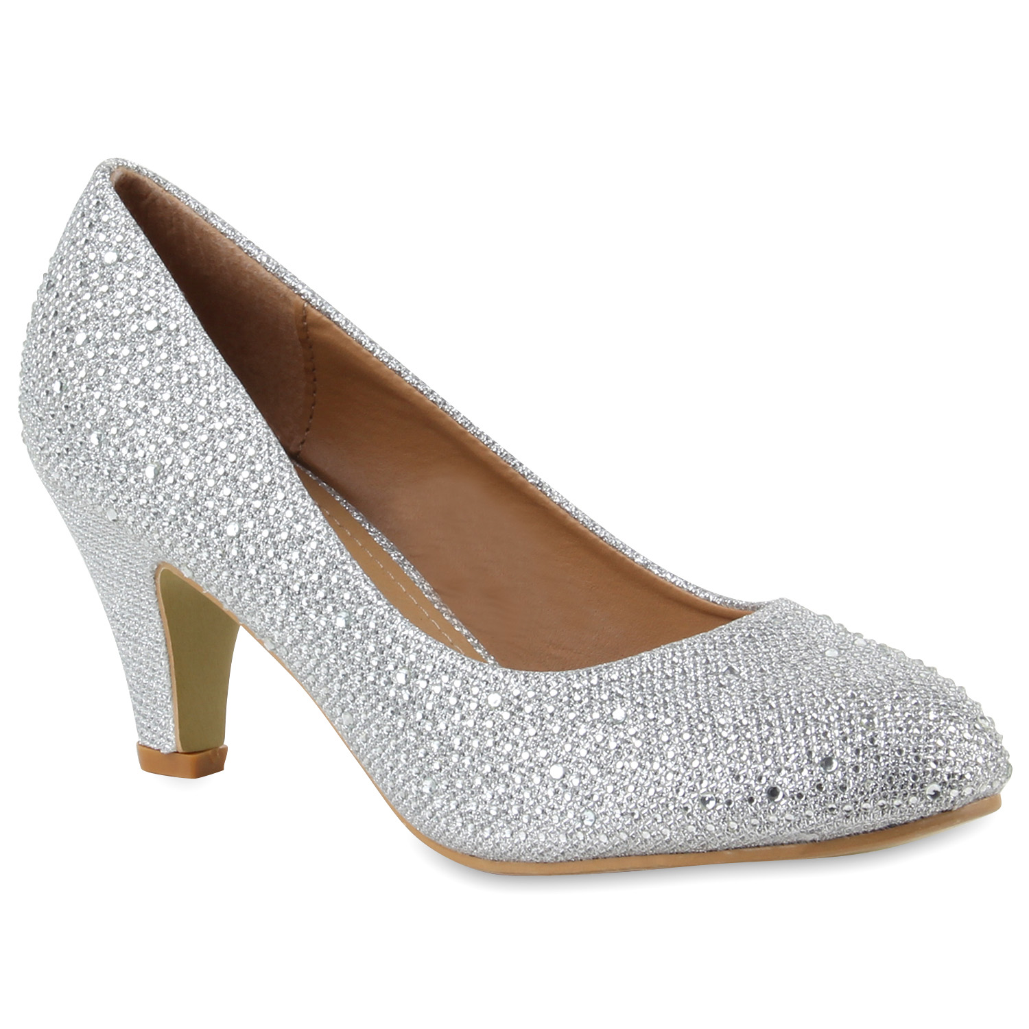 18de6e18e097ee Damen Pumps in Silber (891719-526) - stiefelparadies.de