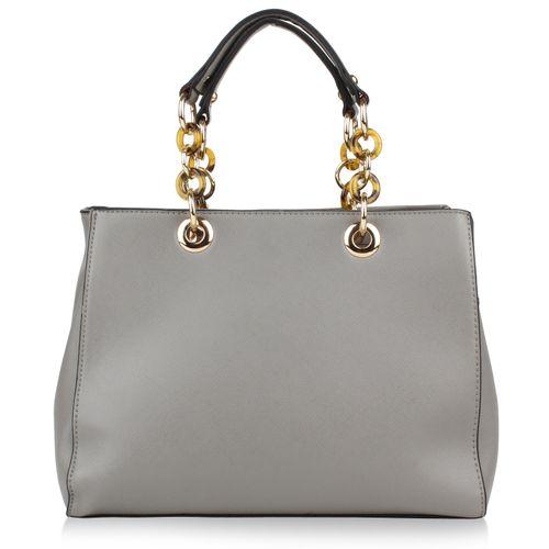 00ad0d0ebec03 Damen Handtasche in Grau für nur 0