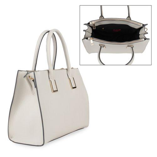 Damen Handtaschen | Shopper - Hellgrau