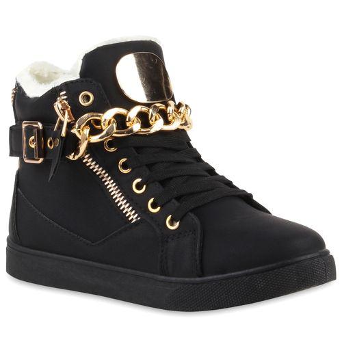 Schwarz Schwarz High Sneaker Schwarz High Schwarz Damen Sneaker Damen Sneaker Damen High High Damen Sneaker g5xUCqwCR