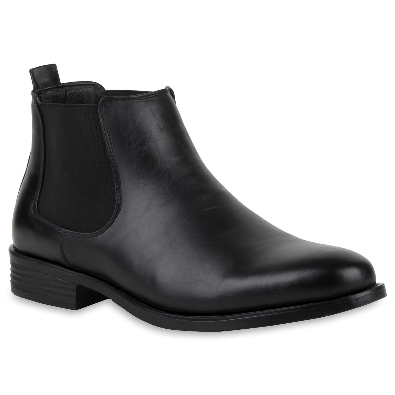 Herren Chelsea Boots - Schwarz