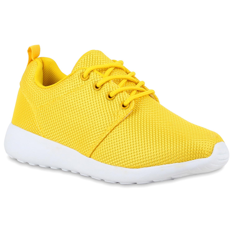 Damen Sportschuhe Laufschuhe - Gelb