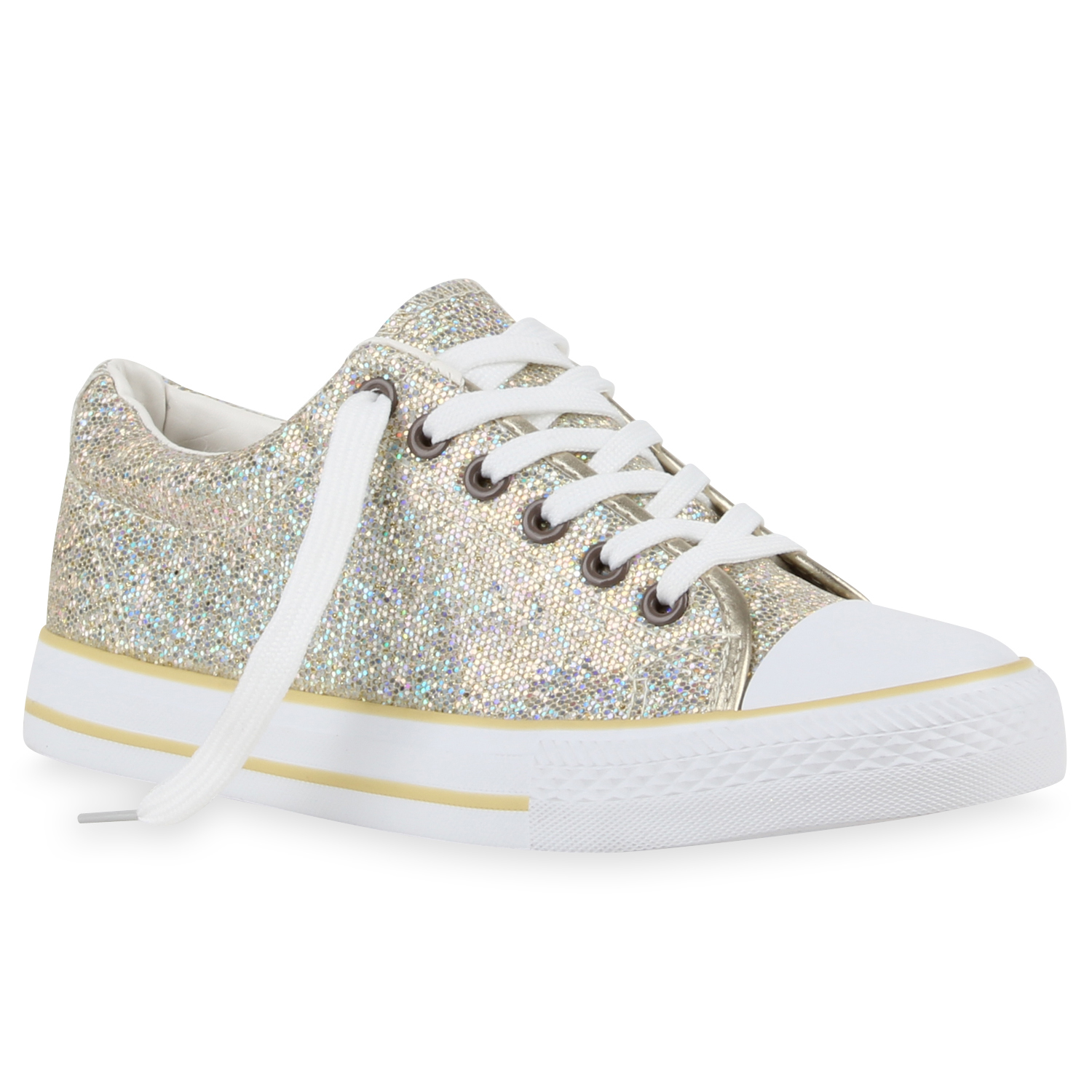 Damen Sneaker low - Gold