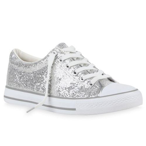 cheap for discount 40f7f 27e19 Damen Sneaker low - Silber