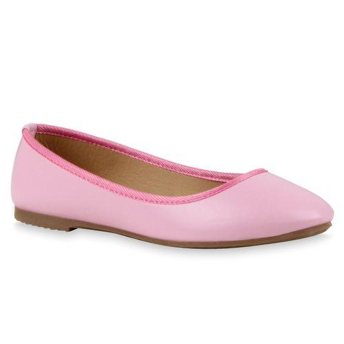 Rosa Damen Klassische Damen Klassische Ballerinas aqR1Y7xw