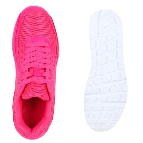 Damen Sportschuhe Laufschuhe - Neonpink
