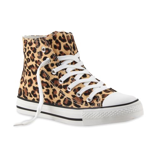 Damen Sneaker high - Leopard