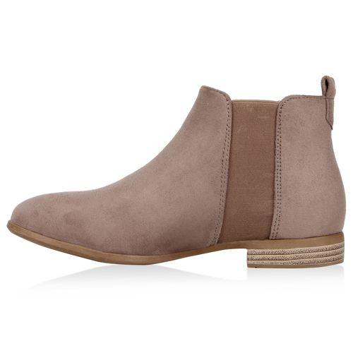 Chelsea Khaki Damen Boots Stiefeletten Damen Stiefeletten x7qfw4Pn8v