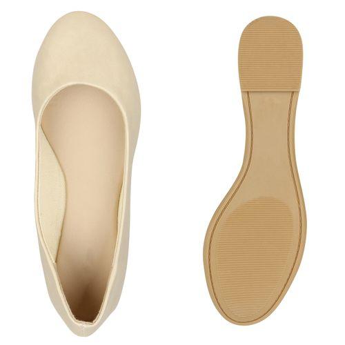 Klassische Ballerinas Damen Klassische Gold Ballerinas Damen Gold Klassische Damen dSFwY0xnq