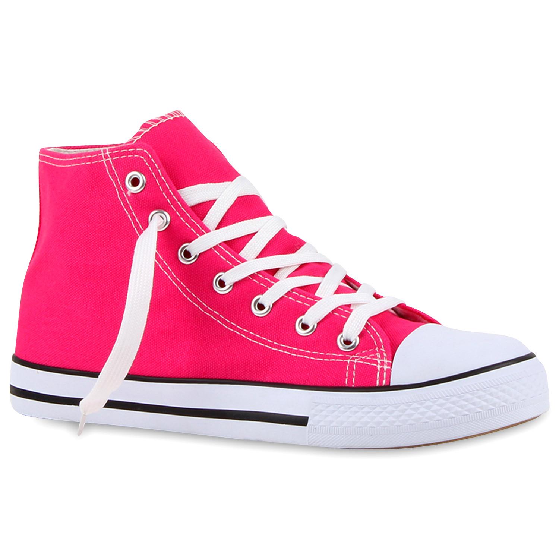 Damen Sneaker high - Pink