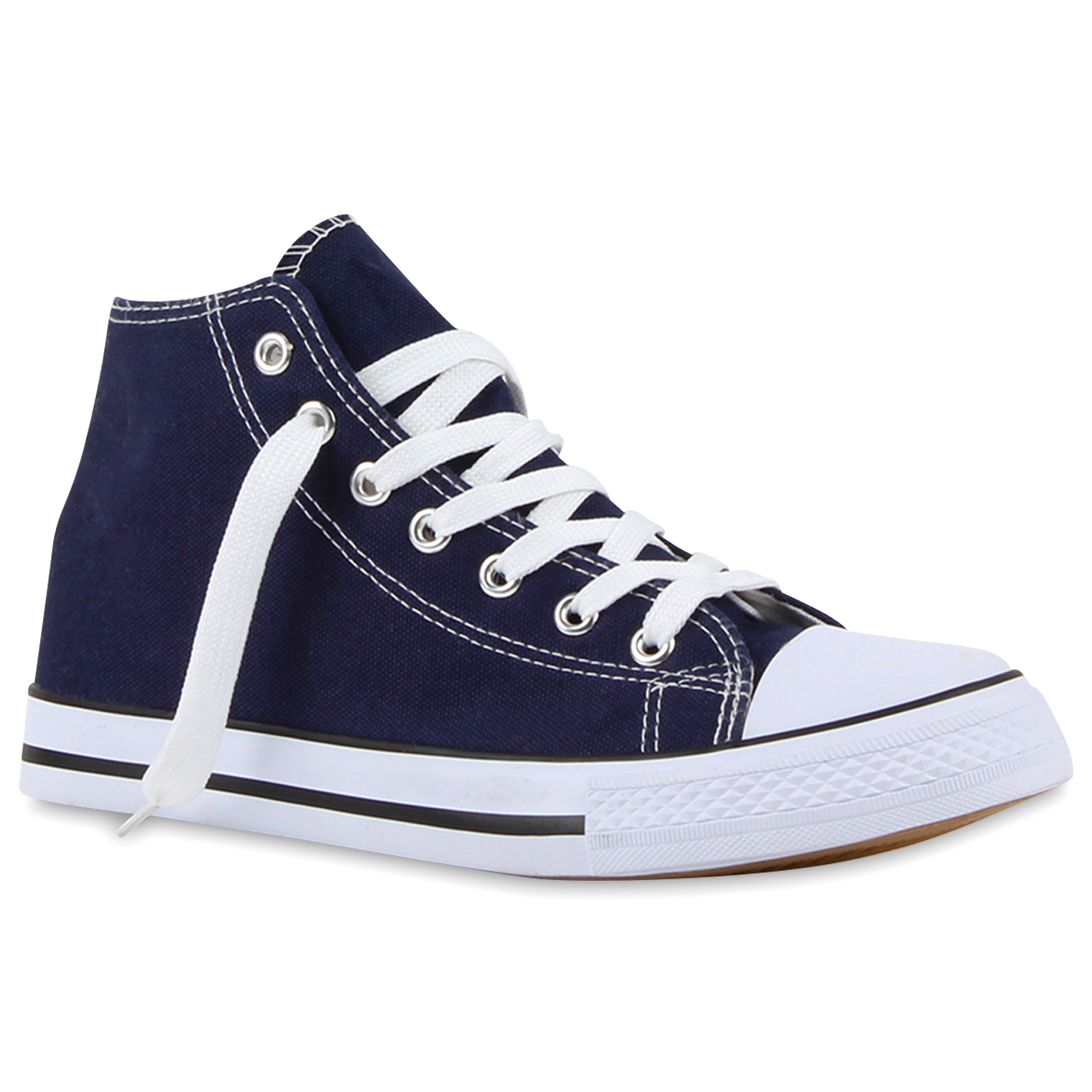 Damen Sneaker high - Dunkelblau