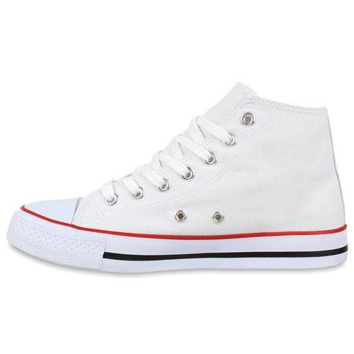 Damen Sneaker high - Weiß