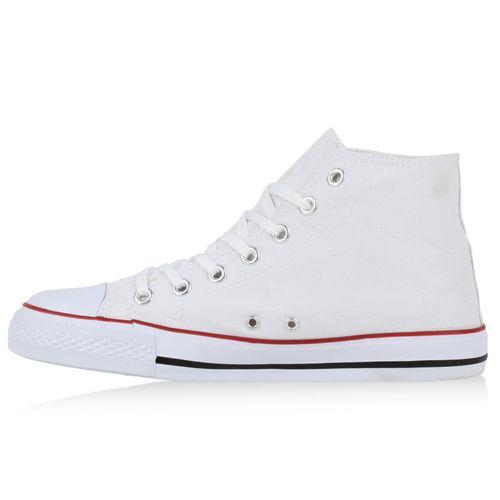 Weiß Sneaker Sneaker Sneaker Herren Sneaker High Weiß Herren Herren High High Herren Weiß SCawUXxq