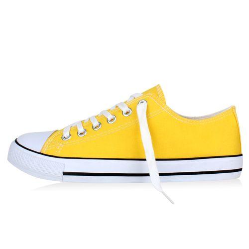 Herren Sneaker Sneaker low - Gelb