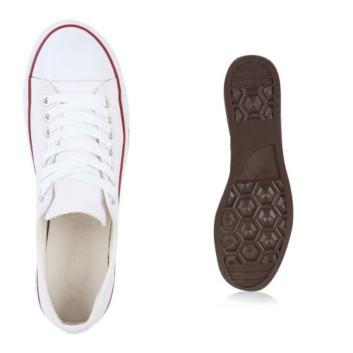 Herren Sneaker Sneaker low - Weiß