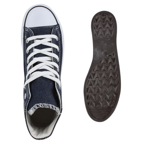 Damen Sneaker high - Dunkelblau