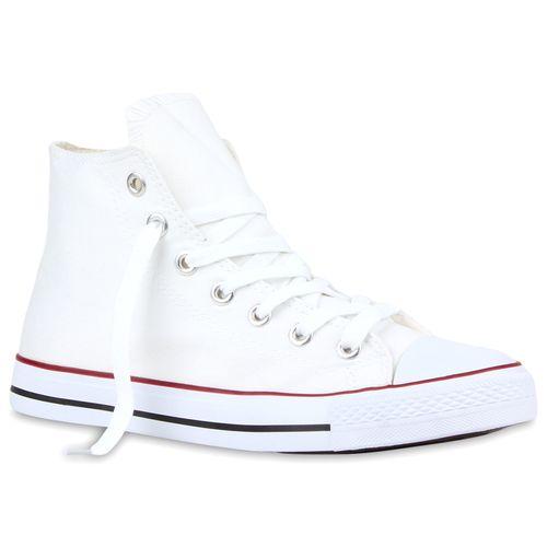 Herren Sneaker high - Weiß