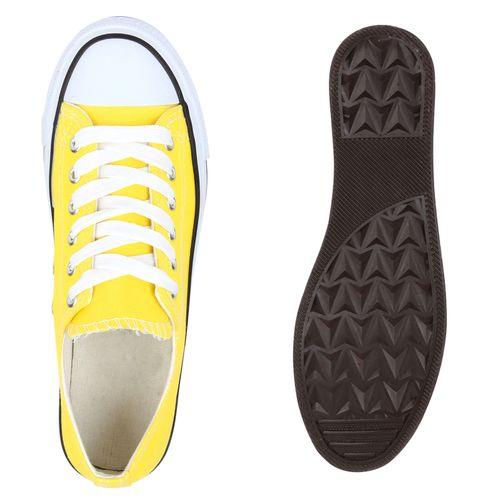 Sneaker Gelb Low Sneaker Damen Damen zwxqT7zB