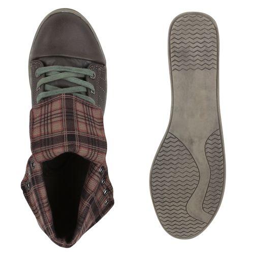 Damen Sneaker high - Grau
