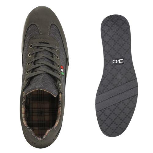 Sneaker Herren Herren Sneaker Grau Low Low qHwt4