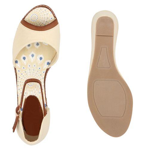 Nude Damen Damen Keilsandaletten Sandaletten Keilsandaletten Sandaletten 4q4w1vxp